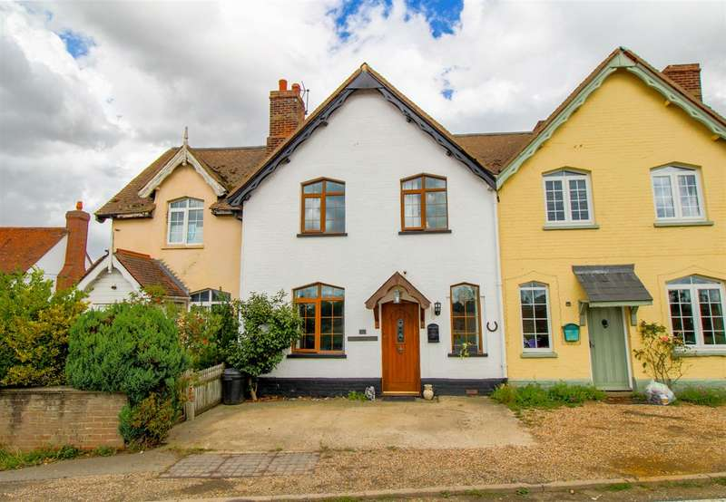 2 Bedrooms Terraced House for sale in Crown Cottages, Nayland Road, Great Horkesley, Colchester, CO6