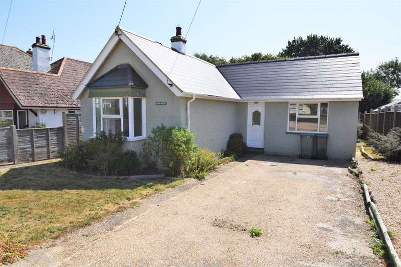 2 Bedrooms Detached Bungalow for sale in Heathfield Road, Bembridge, Isle of Wight, PO35 5UW