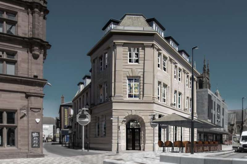 Flat for rent in Former RBS Bank Building, 1-9, Talbot Road, Blackpool, FY1