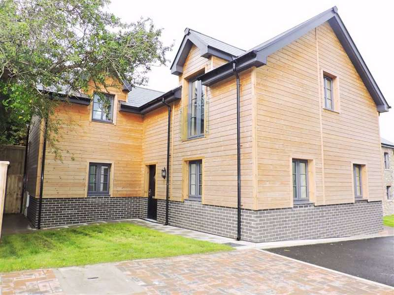 4 Bedrooms Semi Detached House for sale in Lle Bryony, Parrog Road, Newport