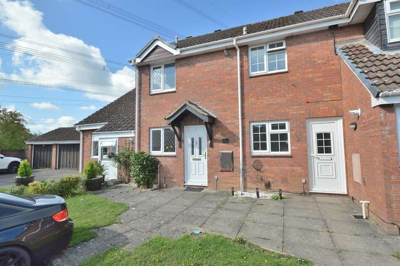 2 Bedrooms Terraced House for sale in Brecon Close, Chandler's Ford