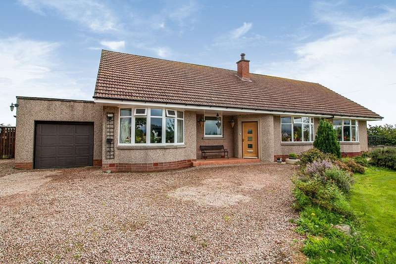 4 Bedrooms Detached Bungalow for sale in Luthermuir, Laurencekirk, Aberdeenshire, AB30