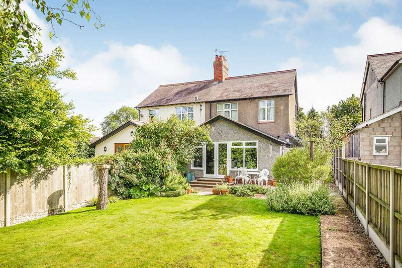 3 Bedrooms Semi Detached House for sale in Castle Street, Whittington, Oswestry, Shropshire, SY11