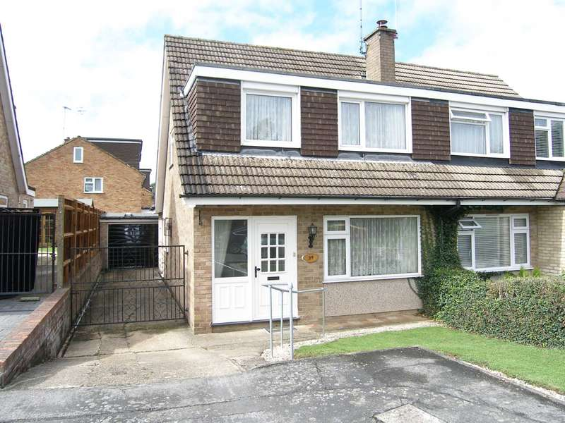 3 Bedrooms Semi Detached House for sale in Spring Crofts, Bushey