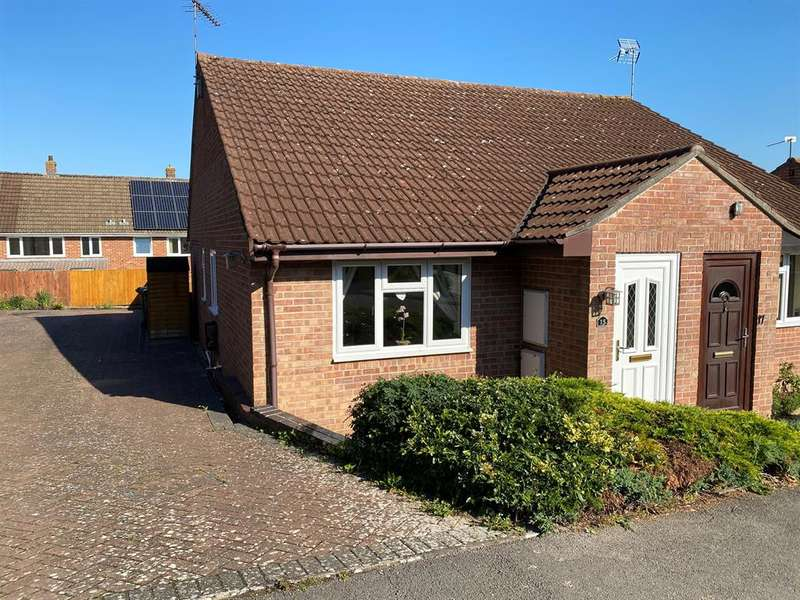 2 Bedrooms Semi Detached Bungalow for sale in Shutehay Drive, Cam, Dursley, GL11 5UU