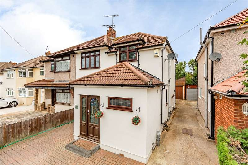 3 Bedrooms Semi Detached House for sale in Lancaster Drive, Hornchurch, RM12