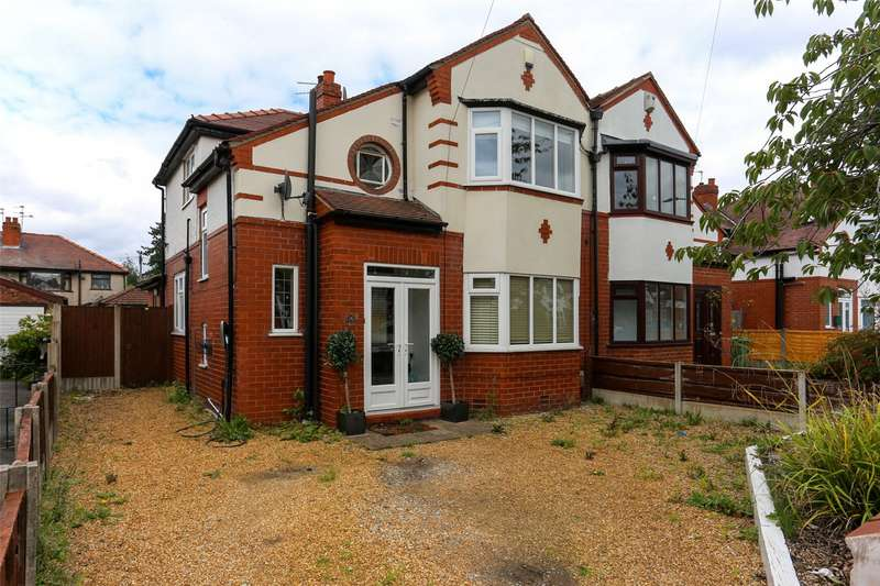 3 Bedrooms Semi Detached House for sale in Dene Road, Didsbury, Manchester, M20