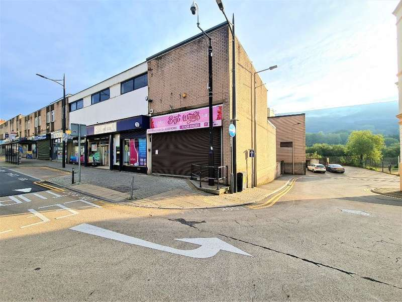 Retail Property (high Street) Commercial for sale in Oxford Street, Mountain Ash, RCT, CF45 3PG