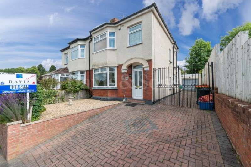 3 Bedrooms Semi Detached House for sale in Beechdale Road, Newport, Gwent. NP19 8AE