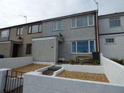 3 Bedrooms Terraced House for sale in Ffordd Beibio, Holyhead, Sir Ynys Mon, LL65