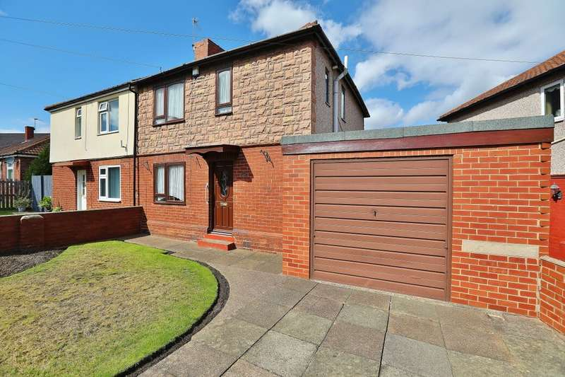 3 Bedrooms Semi Detached House for sale in Chapel Avenue, Brampton, Barnsley, S73
