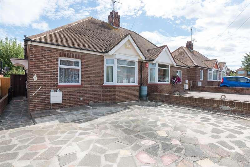2 Bedrooms Semi Detached Bungalow for sale in Mutrix Gardens, MARGATE