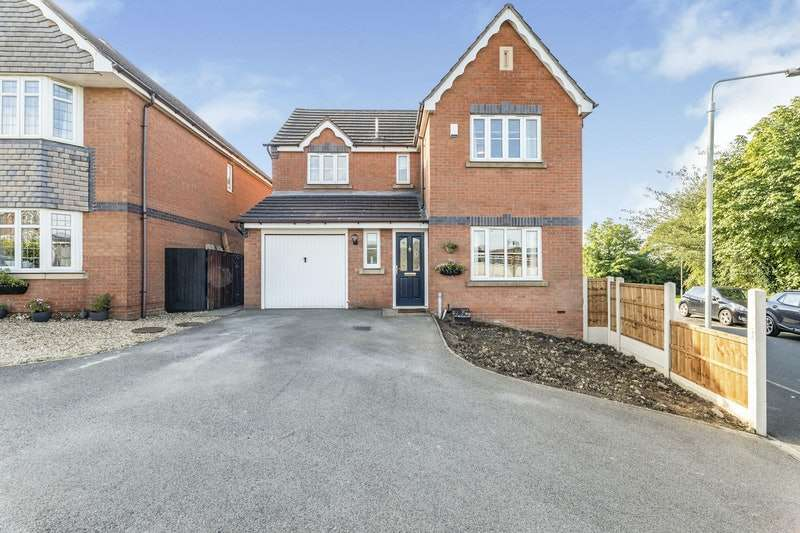 4 Bedrooms Detached House for sale in Whitegates Way, Sutton-in-Ashfield, Nottinghamshire, NG17