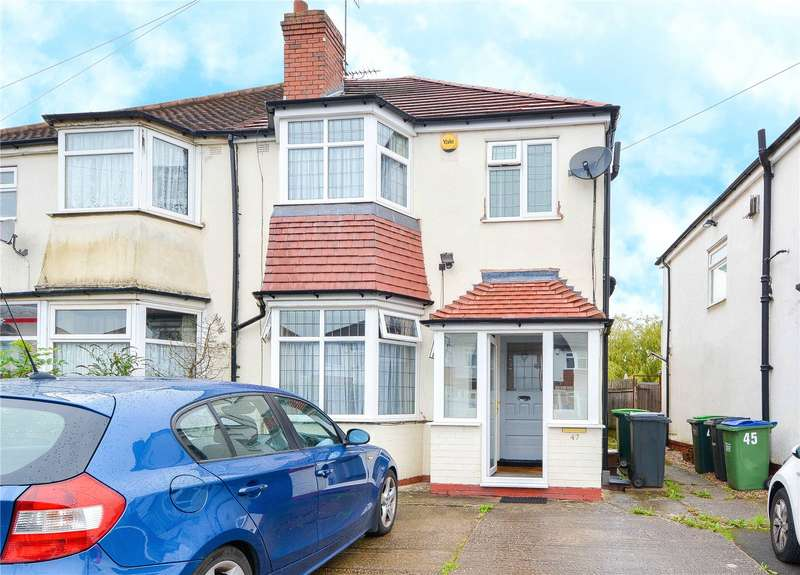 3 Bedrooms Semi Detached House for sale in Perry Hill Road, Oldbury, West Midlands, B68
