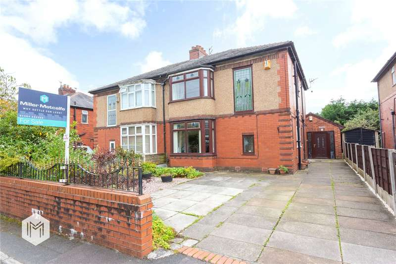 4 Bedrooms Semi Detached House for sale in Lakeside Avenue, Bolton, Greater Manchester, BL3