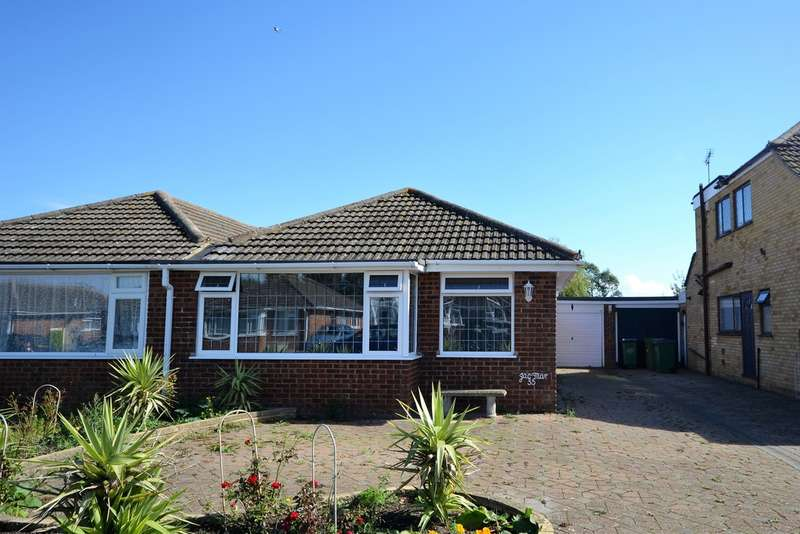 2 Bedrooms Semi Detached Bungalow for sale in Seabourne Way , Dymchurch