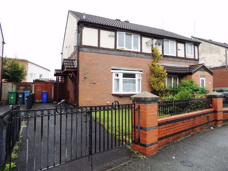 3 Bedrooms Semi Detached House for sale in Wynne Close, Beswick, Manchester