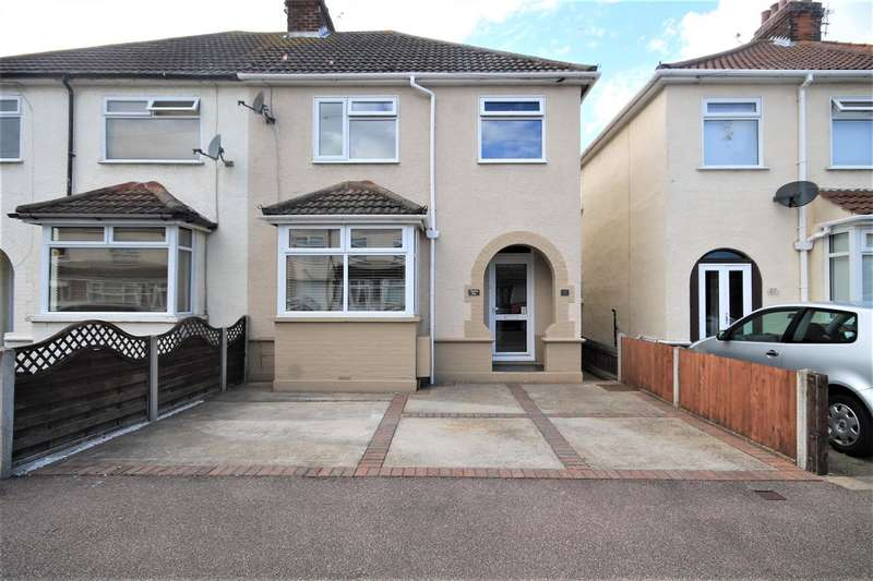3 Bedrooms Semi Detached House for sale in Coronation Road, Clacton on Sea