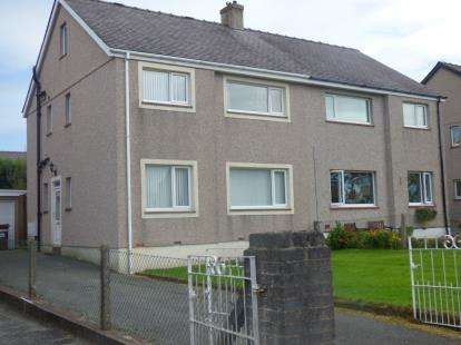 3 Bedrooms Semi Detached House for sale in Lon Y Deri, Bangor, Gwynedd, LL57