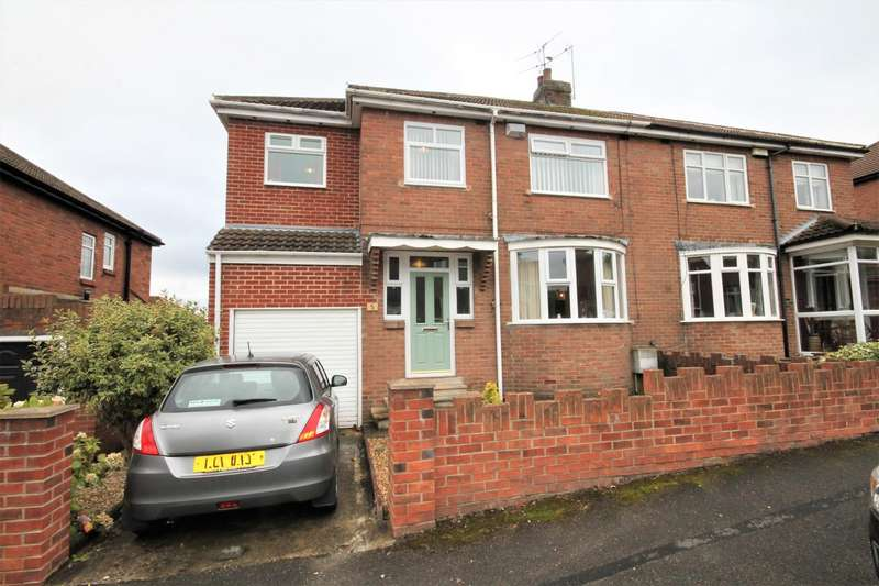 4 Bedrooms Semi Detached House for sale in Drybourne Park, Shildon
