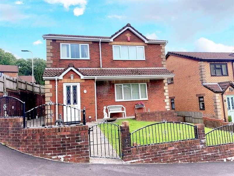 3 Bedrooms Detached House for sale in Bronheulwen, PORTH