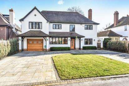 5 Bedrooms Detached House for sale in Meadow Way, Farnborough Park