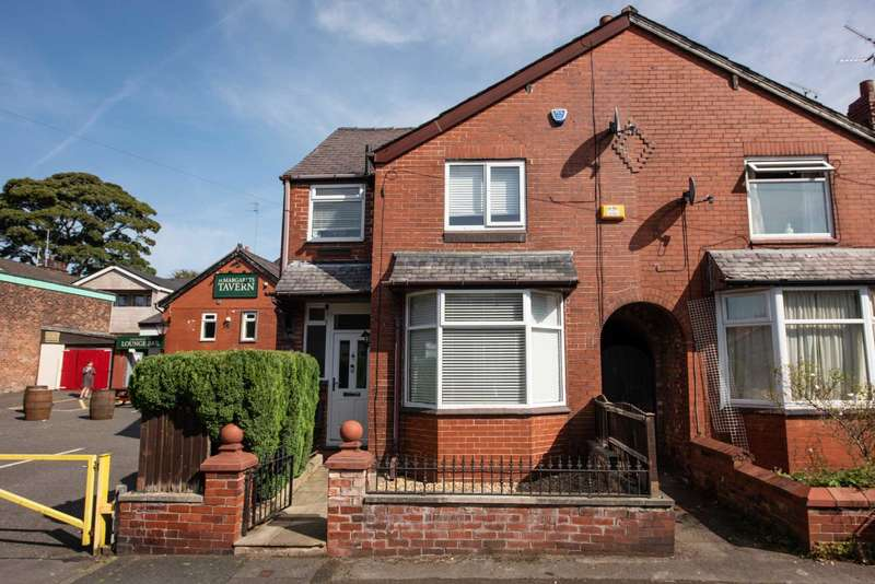 3 Bedrooms End Of Terrace House for sale in Milton Road, Manchester