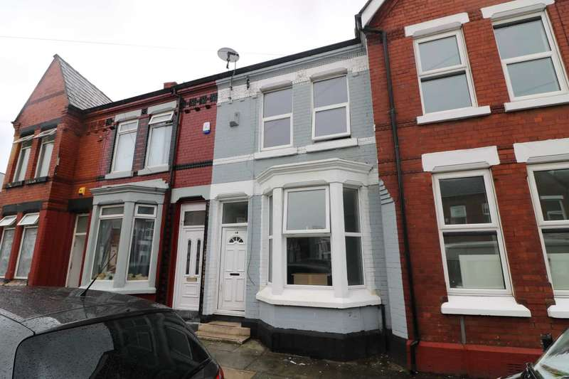 4 Bedrooms Terraced House for rent in Orwell Road, Liverpool