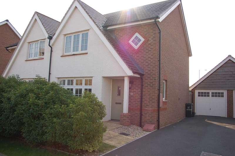 3 Bedrooms Semi Detached House for sale in Bishops Close, Monkton Heathfield