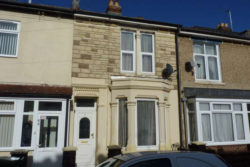 3 Bedrooms Terraced House for sale in Portchester Road, Copnor, Portsmouth, PO2 7HZ