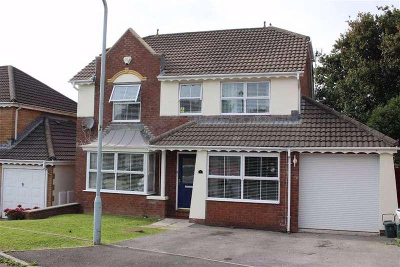 4 Bedrooms Detached House for sale in Maes-Y-Celyn, Three Crosses, Swansea