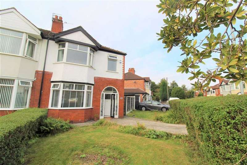 3 Bedrooms Semi Detached House for sale in Hove Drive, Manchester