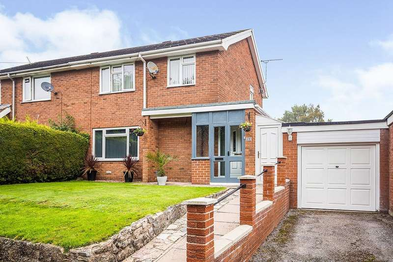 3 Bedrooms Semi Detached House for sale in Fernhill Lane, Gobowen, Oswestry, Shropshire, SY11