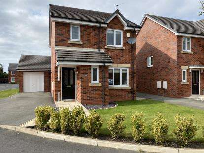 3 Bedrooms Detached House for sale in Chisnall Brook Close, Downholland, Ormskirk, Lancashire, L39