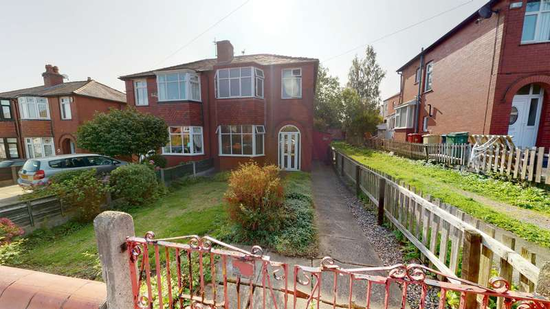 3 Bedrooms Semi Detached House for sale in Norfolk Drive, Farnworth, Bolton, BL4 7JS