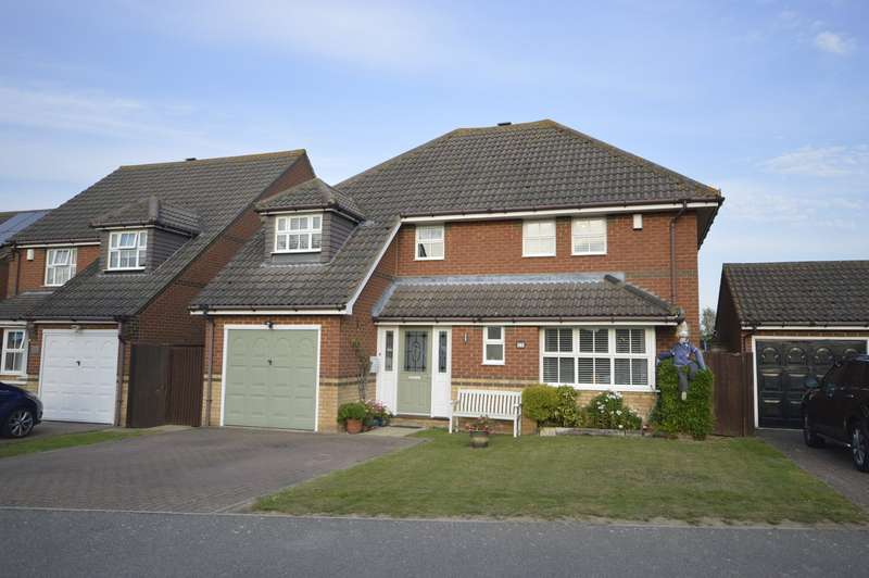 4 Bedrooms Detached House for sale in Topley Drive, High Halstow, Rochester, Kent, ME3
