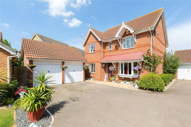 4 Bedrooms Detached House for sale in Poplar Close, South Ockendon, RM15