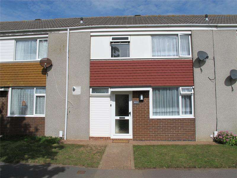3 Bedrooms Terraced House for sale in Skipper Way, Lee-On-The-Solent, Hampshire, PO13