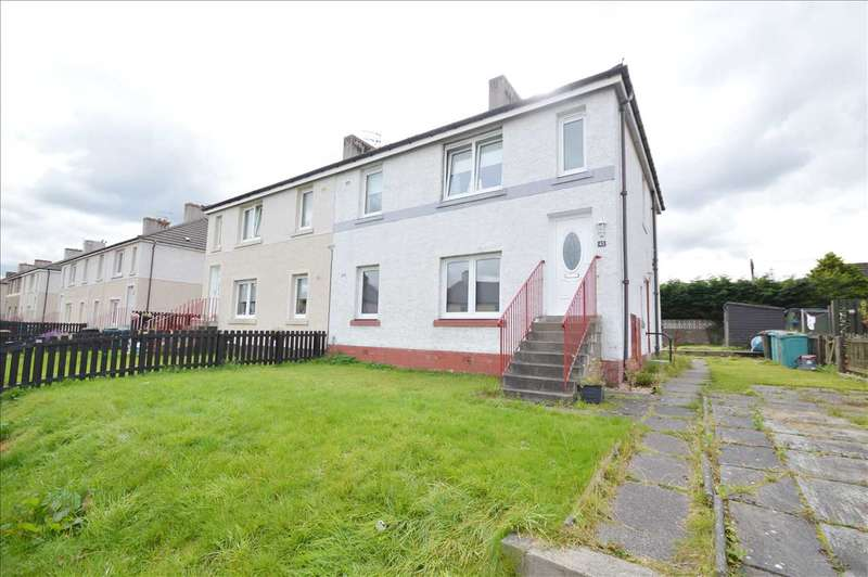2 Bedrooms Apartment Flat for sale in Vulcan Street, Motherwell