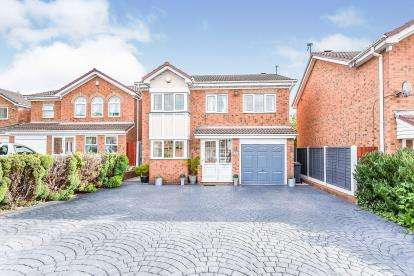 5 Bedrooms Detached House for sale in St. Catherines Close, Walsall
