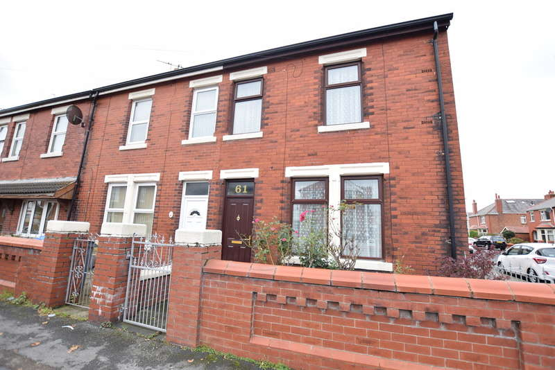 3 Bedrooms End Of Terrace House for sale in Abbey Road, Blackpool