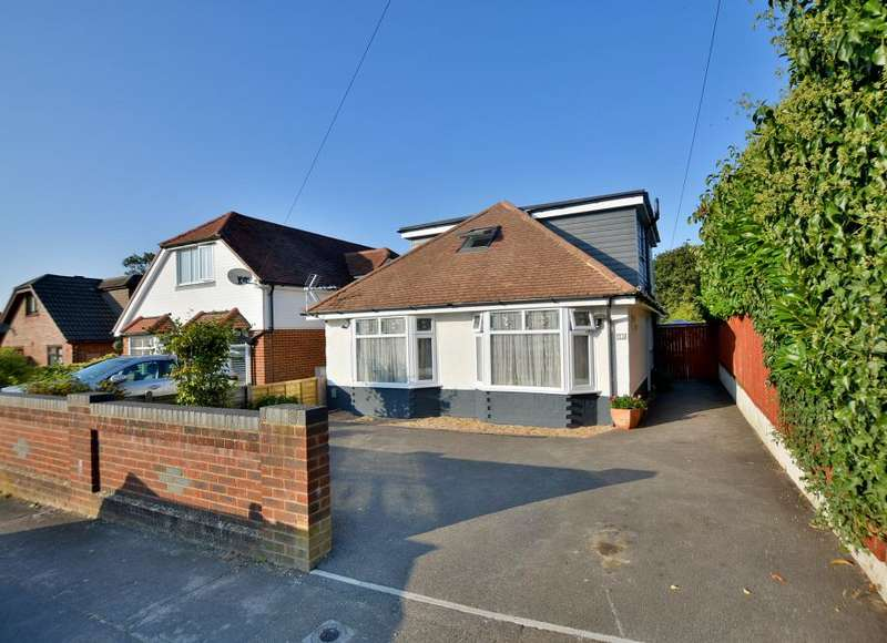 4 Bedrooms Detached Bungalow for sale in Broadhurst Avenue, Bournemouth, Dorset BH10 6JW