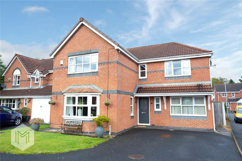 4 Bedrooms Detached House for sale in Finchley Close, Bury, BL8