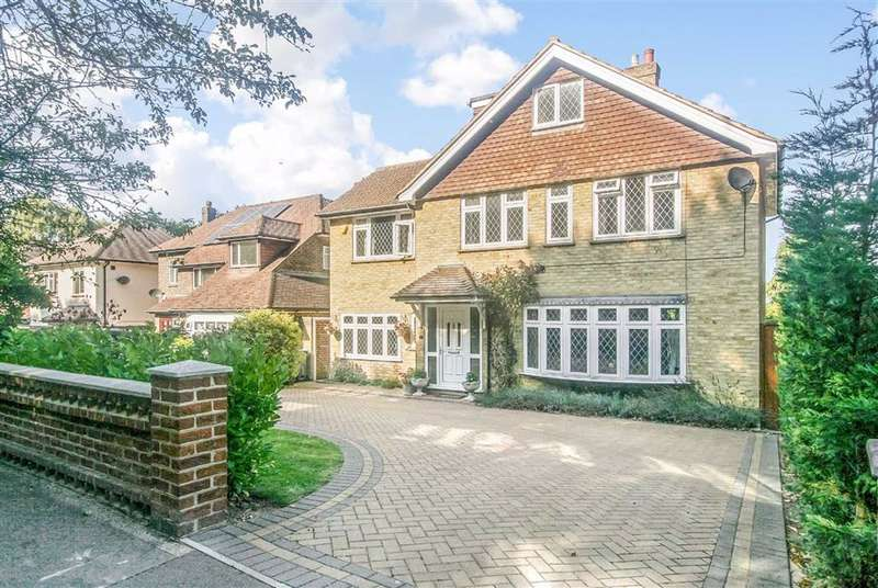 5 Bedrooms Detached House for sale in Bankside, Croham Hurst, South Croydon