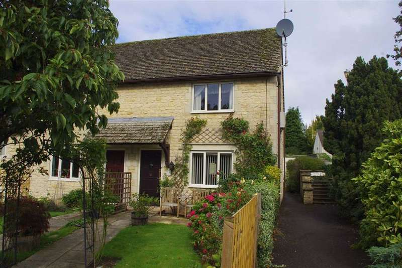 2 Bedrooms End Of Terrace House for sale in Walton House Court, Northleach, Gloucestershire