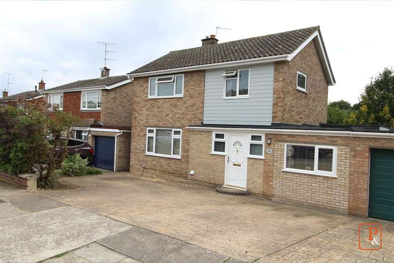 4 Bedrooms Detached House for sale in St. Dominic Road, St Johns, Colchester, CO4