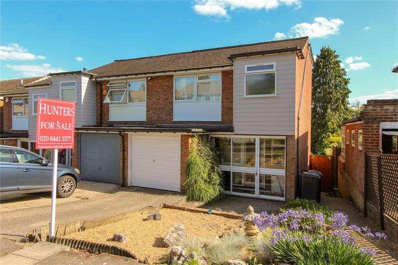 3 Bedrooms End Of Terrace House for sale in Tudor Road, New Barnet, EN5