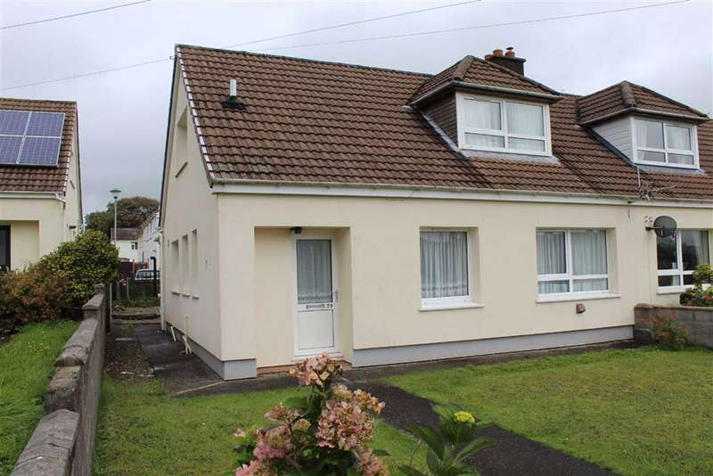 2 Bedrooms Semi Detached Bungalow for sale in The Beeches, Llandysul