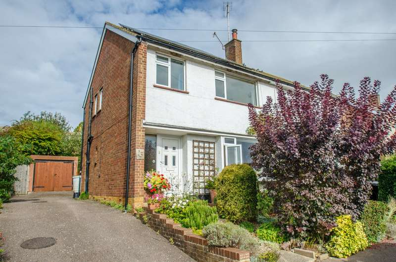3 Bedrooms Semi Detached House for sale in Lindsay Avenue, Hitchin, Hertfordshire, SG4