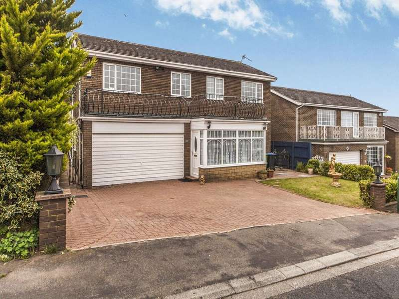 5 Bedrooms Detached House for sale in Eastfields Road, School Aycliffe, Newton Aycliffe, Durham, DL5